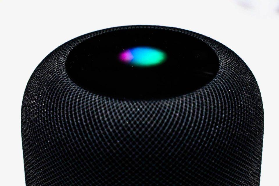 Topo do HomePod, da Apple.