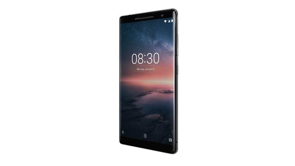 Foto de divulgação do Nokia 8 Sirocco, primeiro topo de linha da HMD Global.