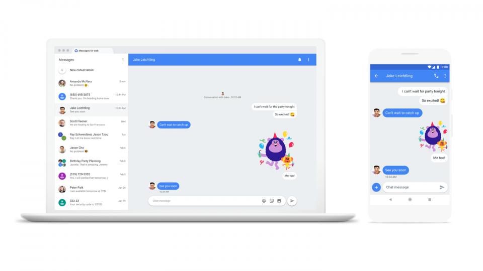 Google tentará emplacar (mais um) app de mensagens