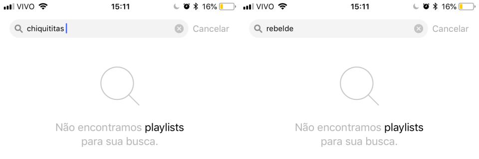 Pesquisas no SBT Hits por Rebelde ou Chiquititas sem retorno.