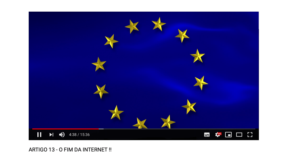O que o artigo 17 da diretiva de direitos autorais da União Europeia muda no YouTube?