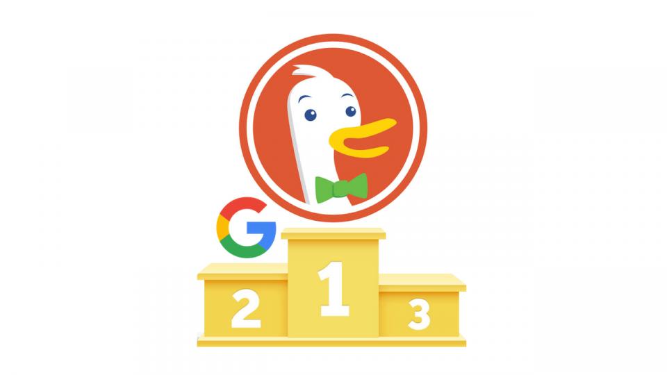 O Google tem resultados mais precisos, mas o DuckDuckGo é melhor por causa deste recurso
