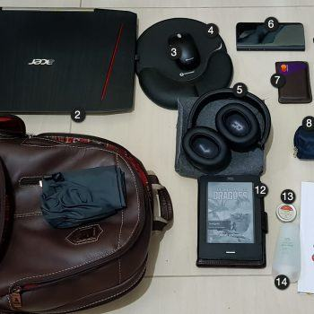 Exemplo de mochila.