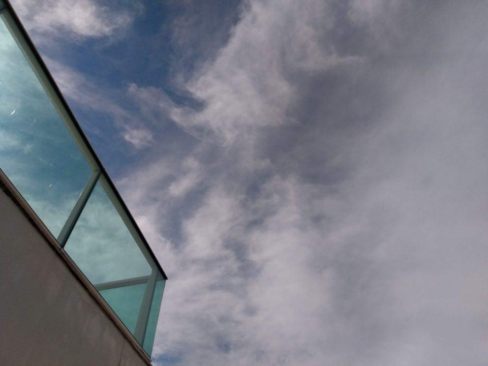 Foto do céu feita com o Moto G7 Play.