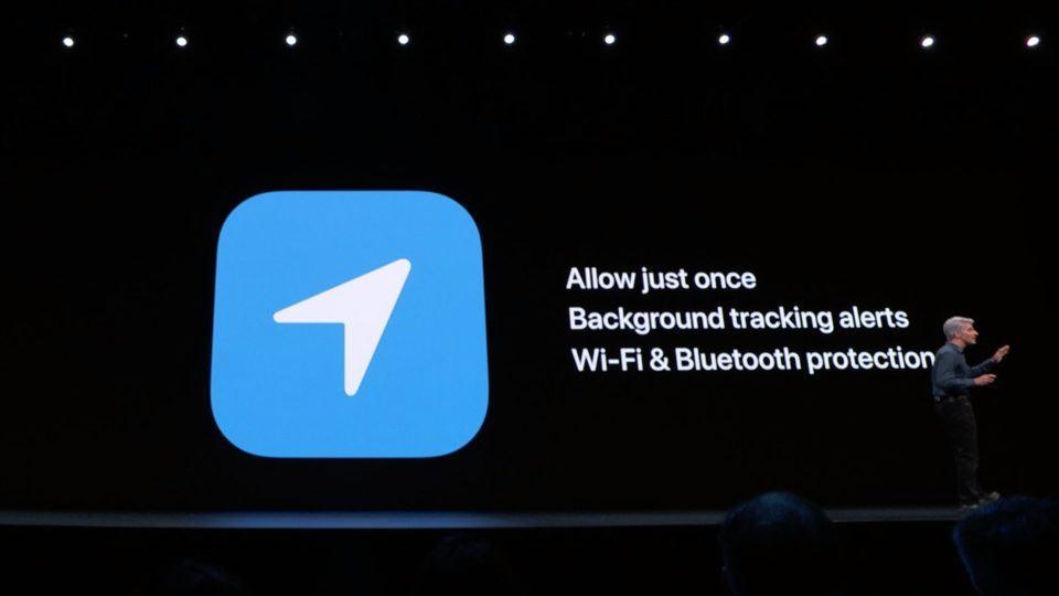 Localização: 1) Permitir apenas uma vez; 2) Alertas de rastreamento em segundo plano; 3) Proteção de Wi-Fi e Bluetooth.
