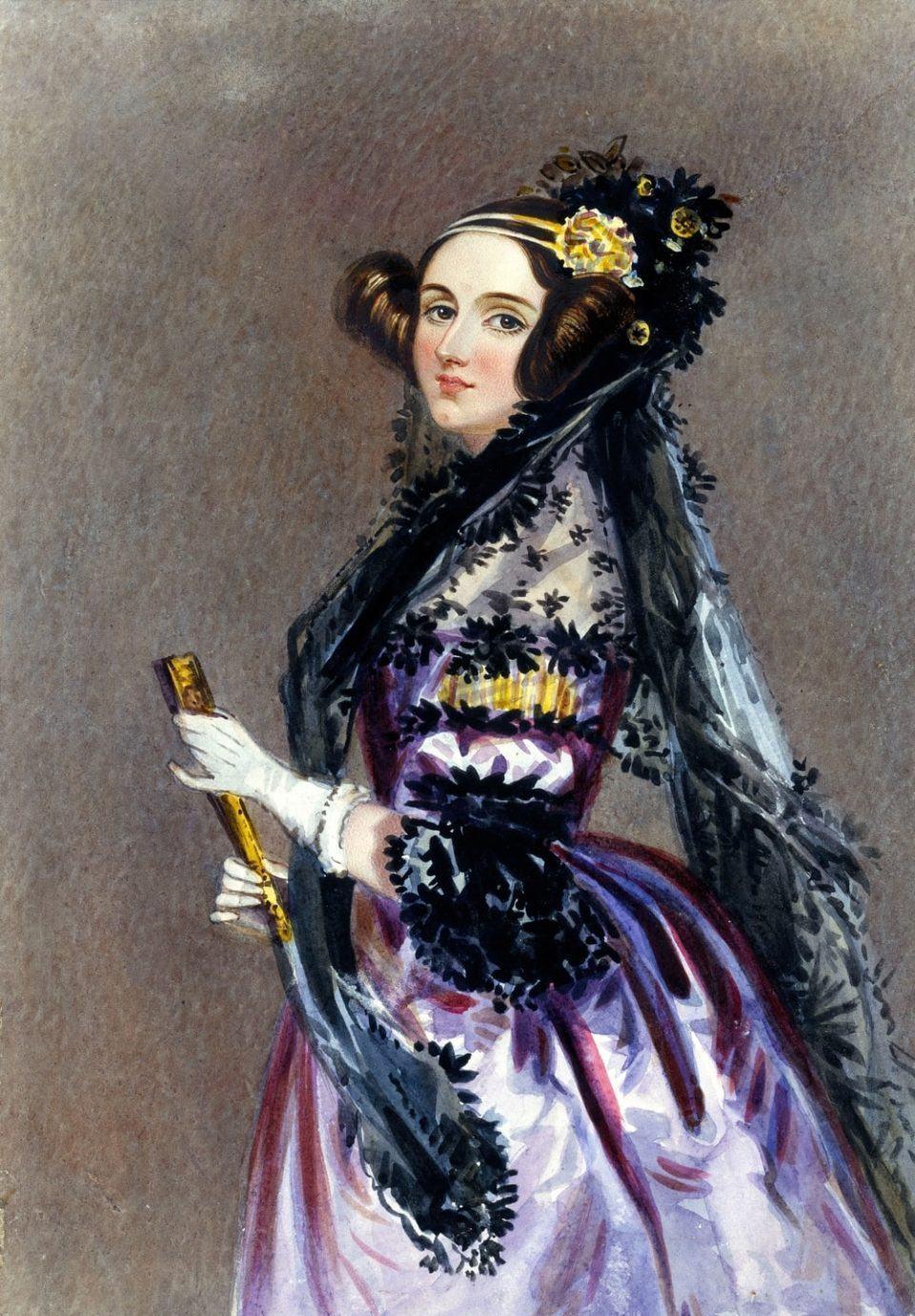 Pintura de Ada Lovelace.