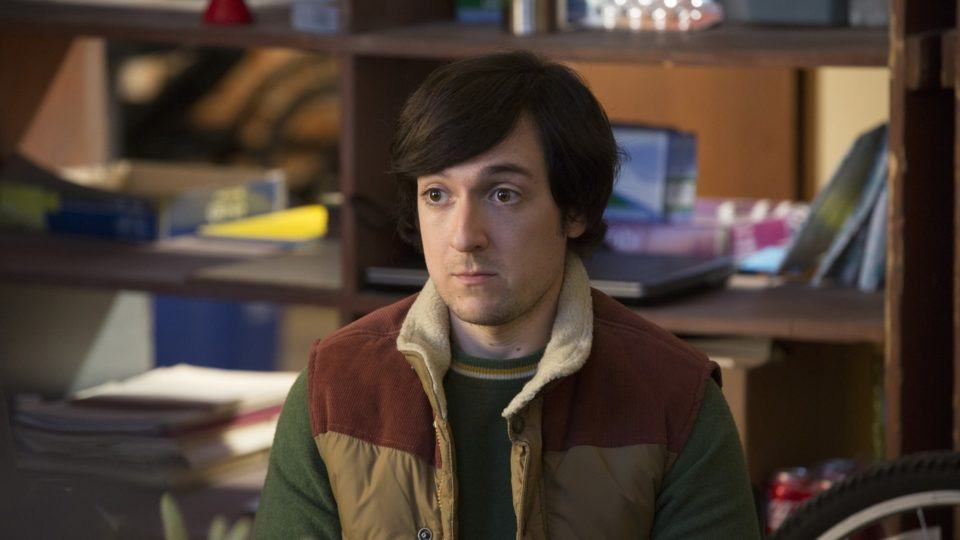 "Foto do personagem Nelson ""Big Head"" Bighetti, da série ""Silicon Valley""."