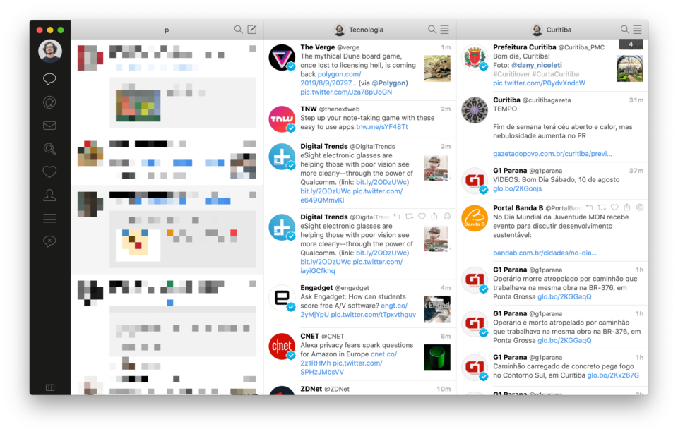 Print do Tweetbot.