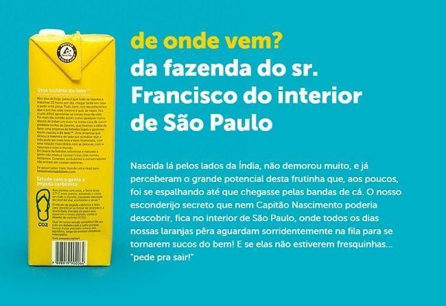 Texto da Do Bem falando do sr. Francisco.