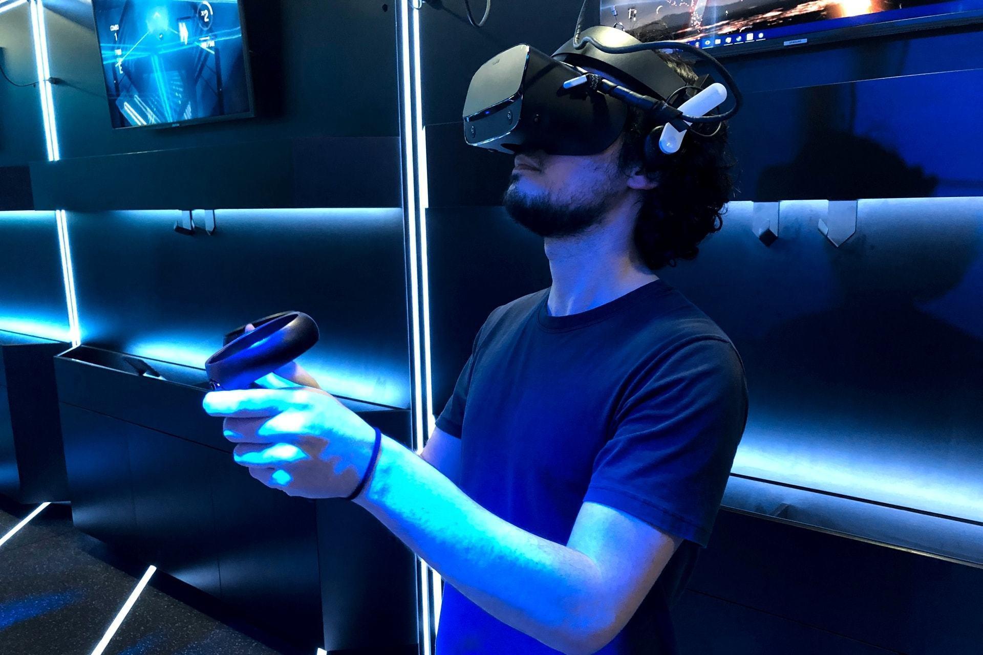 Lugar de realidade virtual é fora de casa