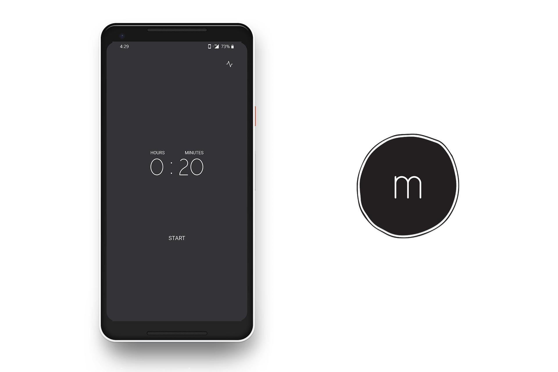Strive Minutes, meditação minimalista para Android