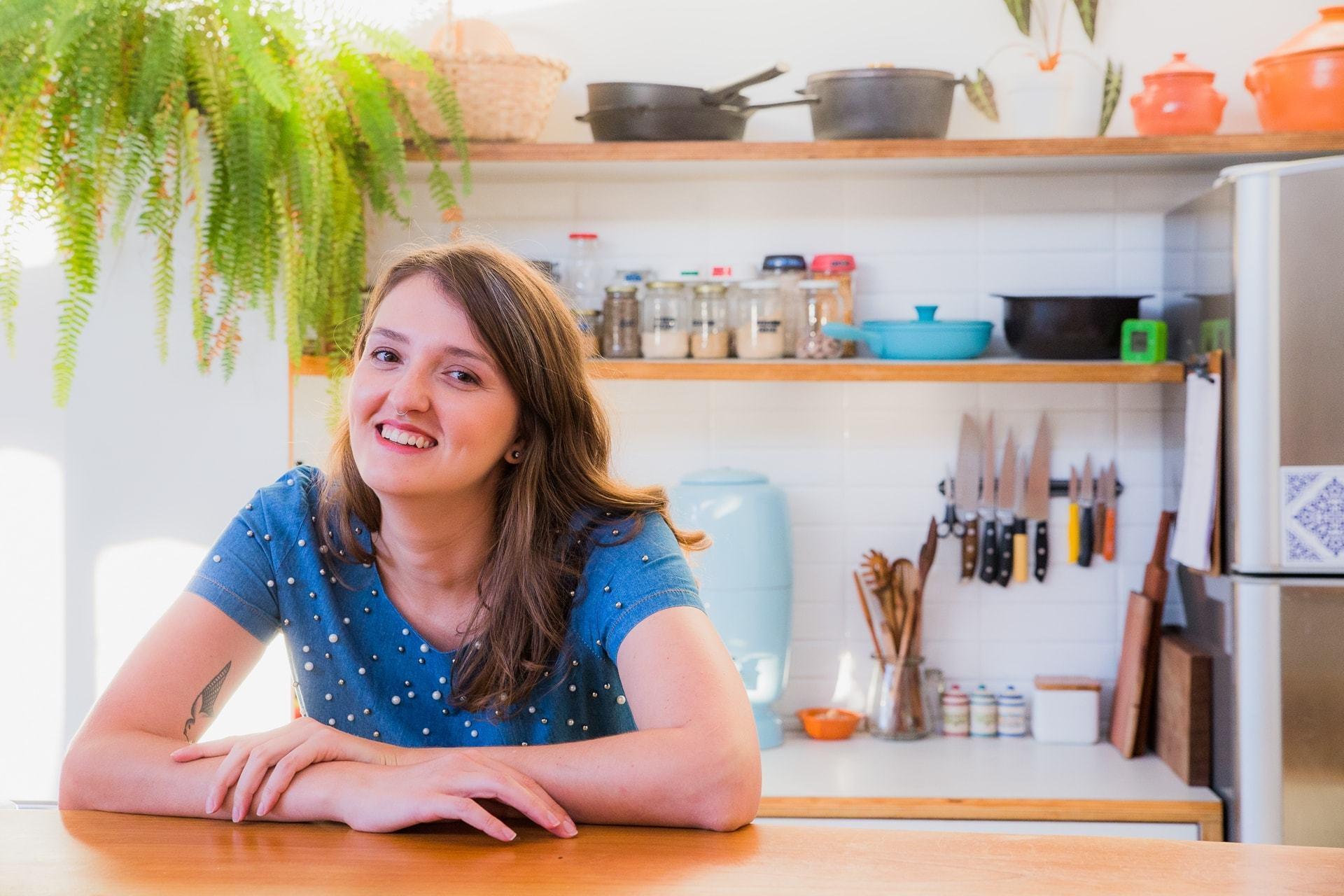 Como a blogueira Cristal Muniz trabalha