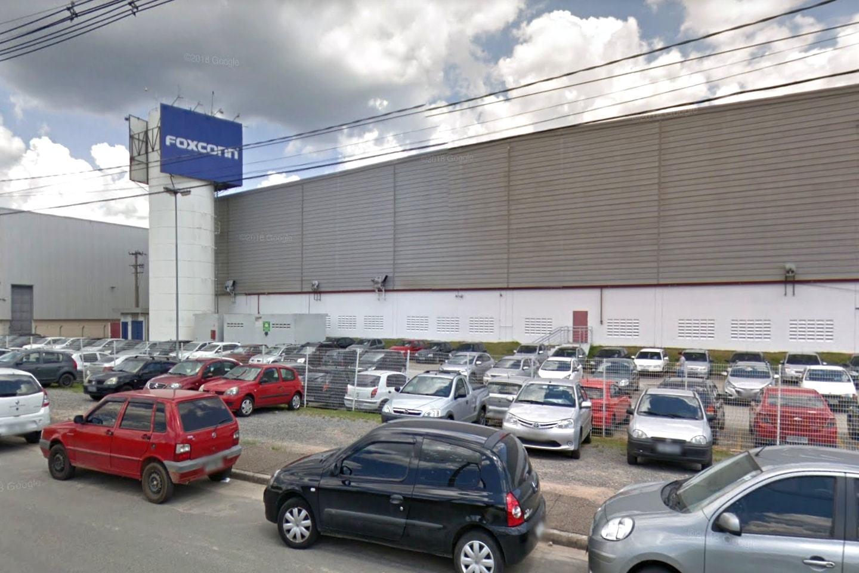 Fachada da fábrica da Foxconn em Jundiaí (SP).
