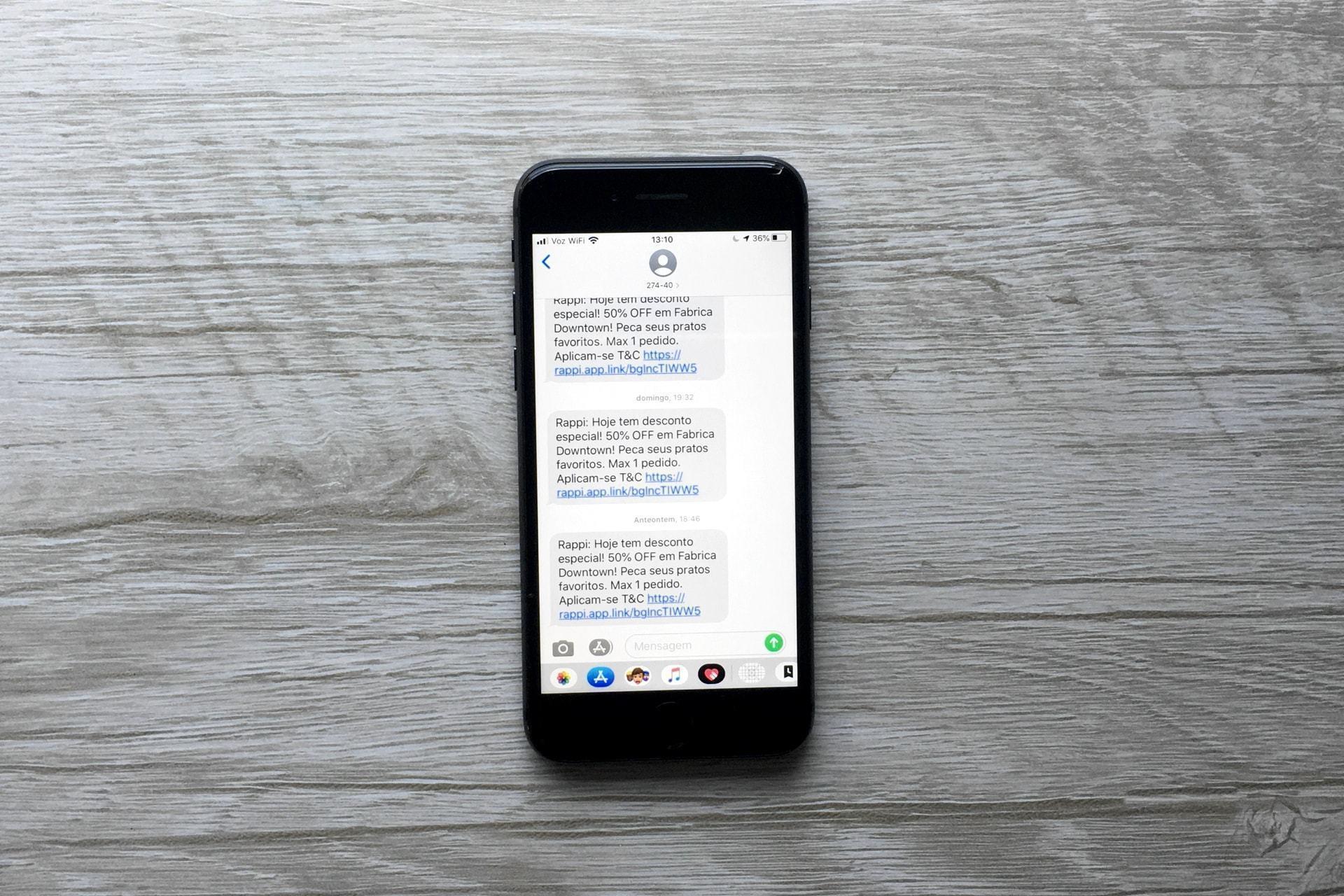 Como desativar as notificações por SMS de 99Food, iFood, Rappi e UberEATS — e outras dicas para se livrar desses apps