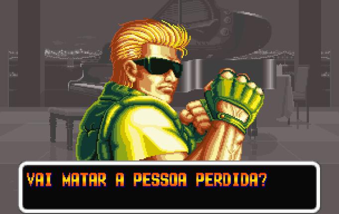Fernando (chefe): — Vai matar a pessoa perdida?