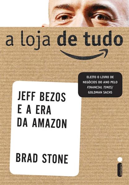 """Capa do livro """"A loja de tudo""""."""