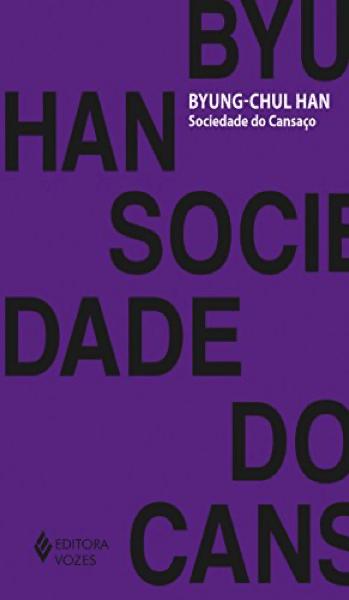 """Capa do livro """"Sociedade do cansaço""""."""