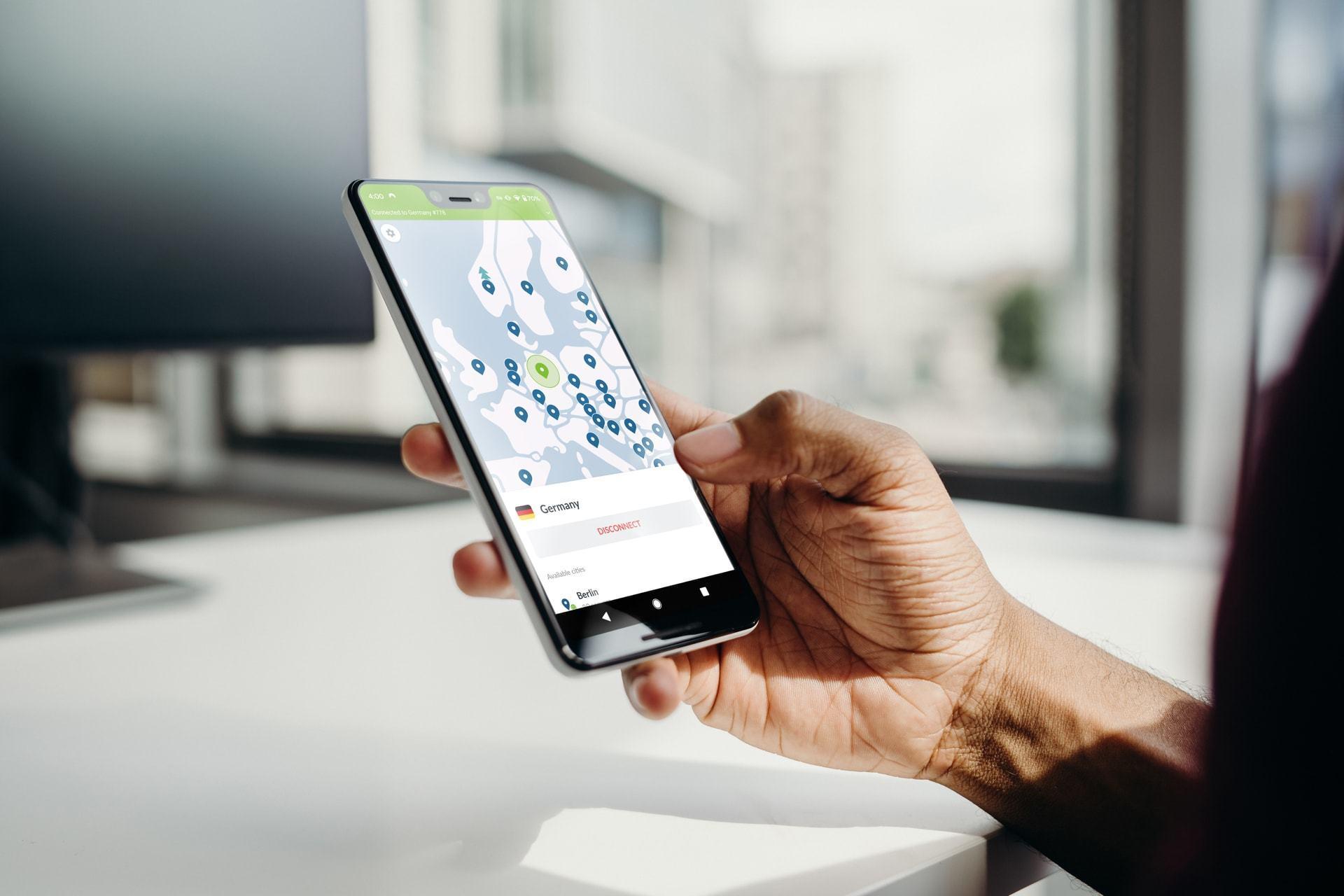 Proteja a sua conexão assinando a NordVPN com 68% de desconto