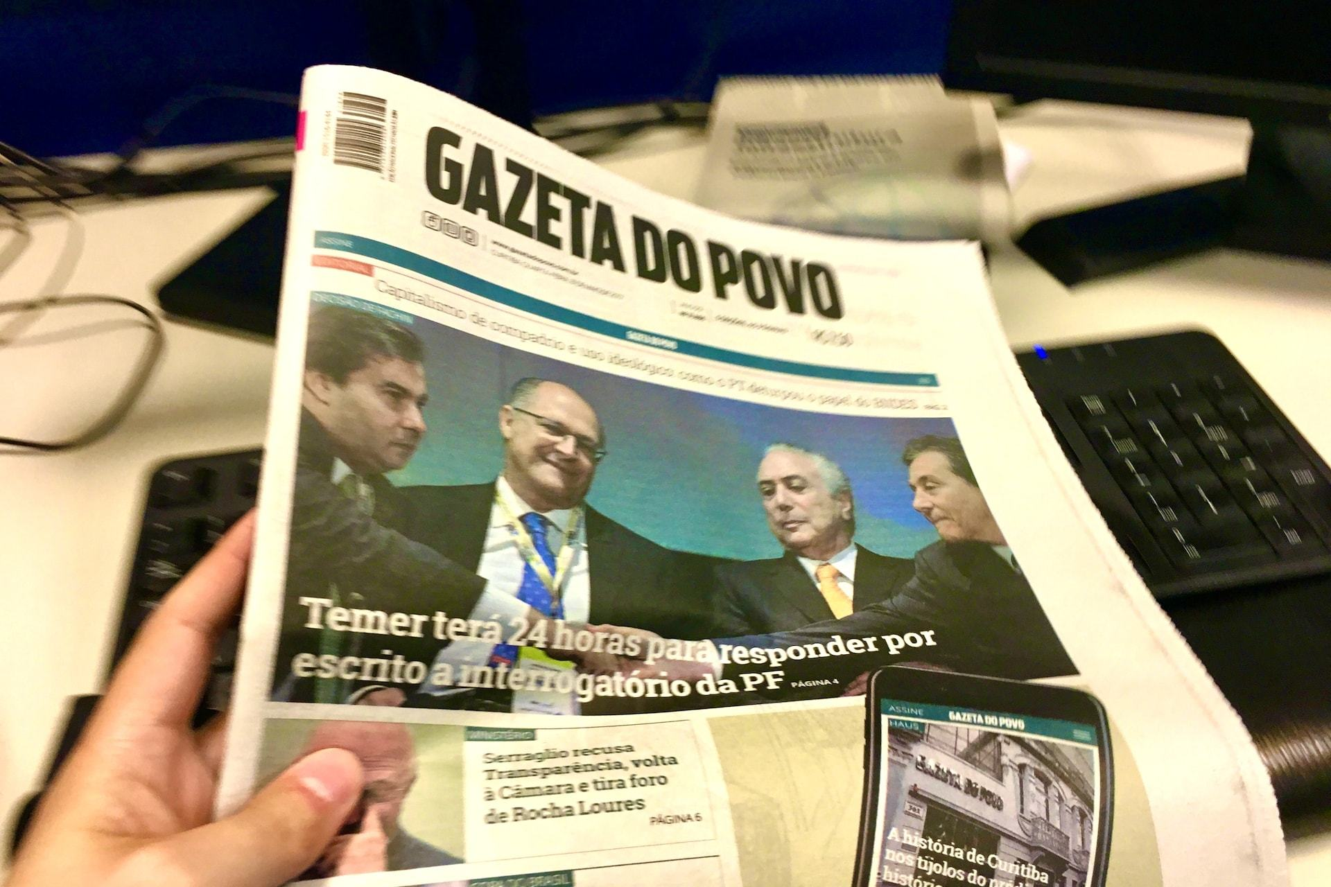 Sleeping Giants, Gazeta do Povo e Rodrigo Constantino
