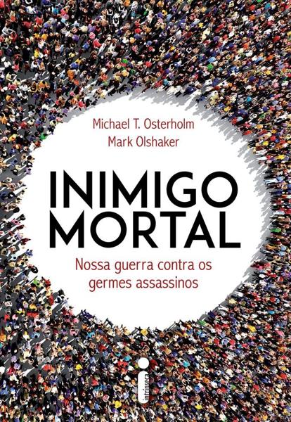 """Capa do livro """"Inimigo Mortal""""."""
