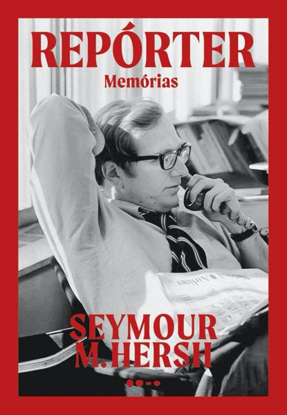 """Capa do livro """"Repórter: Memórias""""."""