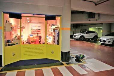 Garagem onde o Mercado Livre nasceu, já convertida em museu.